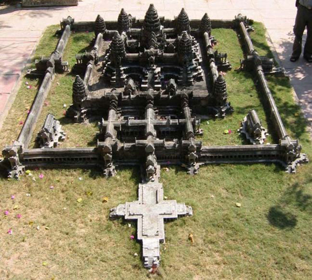 angkor wat classical style architecture