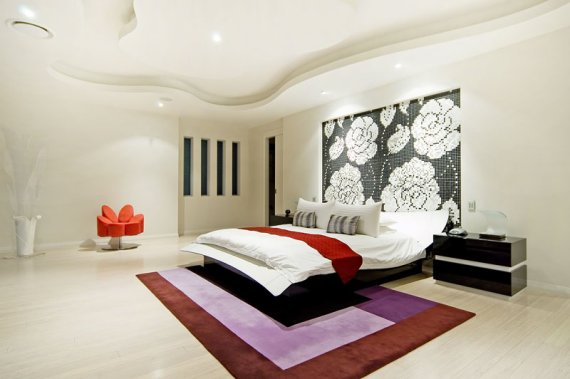 modern bedroom contemporary house design