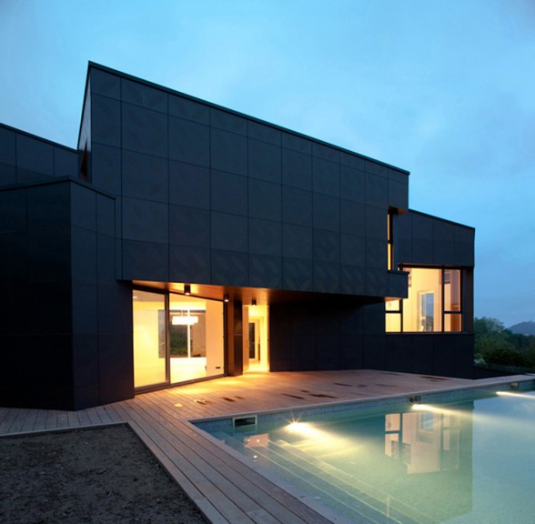 contemporary block house ideas