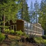 Natural Contemporary Cottage Design Sebastopol Luxury Residence: Eco Friendly Wooden House Layout