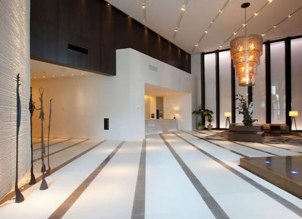 lobby luxury hotel design