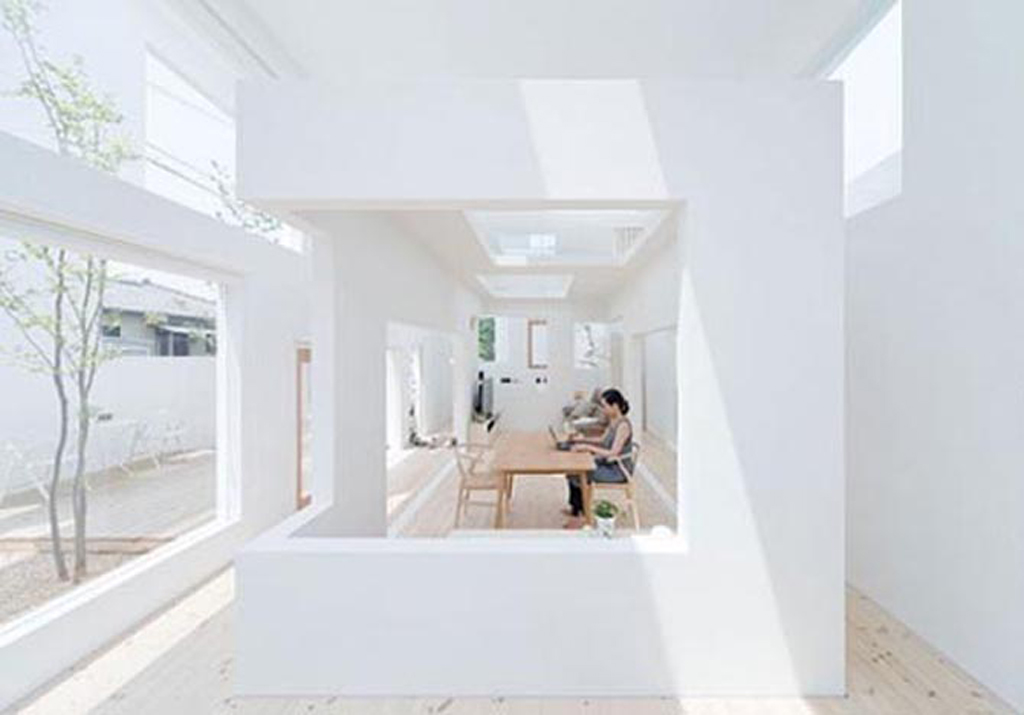 minimalist white house interior design