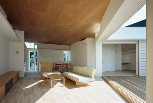 minimalist wooden interior plans