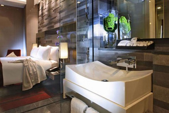 Luxury Hotel Interior Design with Modern Lighting Quincy Hotel