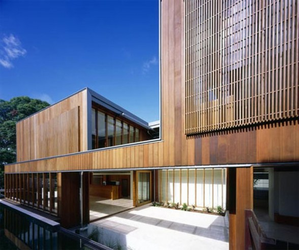 wooden house architectures design