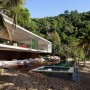 Luxury Concrete Beach House Designs with Outdoor Swimming Pool in Paraty, Brazil: Beach House  Outdoor Swimming Pool