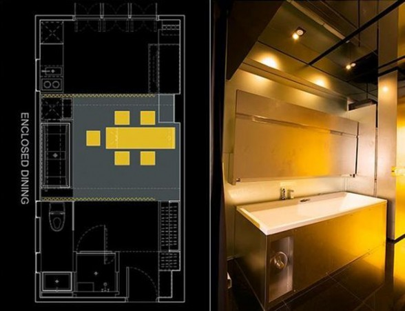 Amazing Apartment Design in Hong Kong - Bathroom