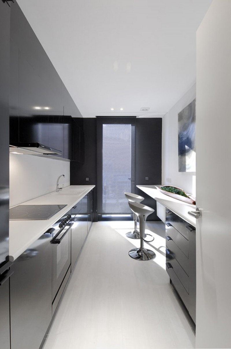 Amazing Black Prefab House Architecture   Wastafel