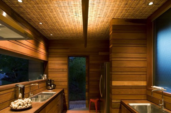 Brazilian Leaf Shape Dream House Inspiration - Bathroom