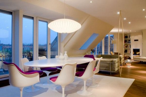 Contemporary Design Rooftop Apartment