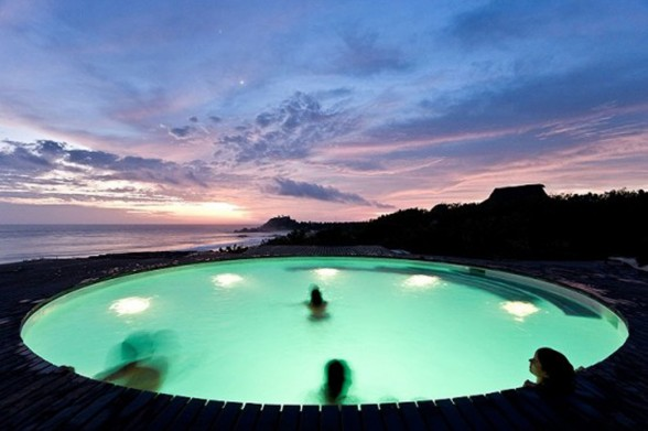 Dream Houses Design in Mexico - Swimming Pool