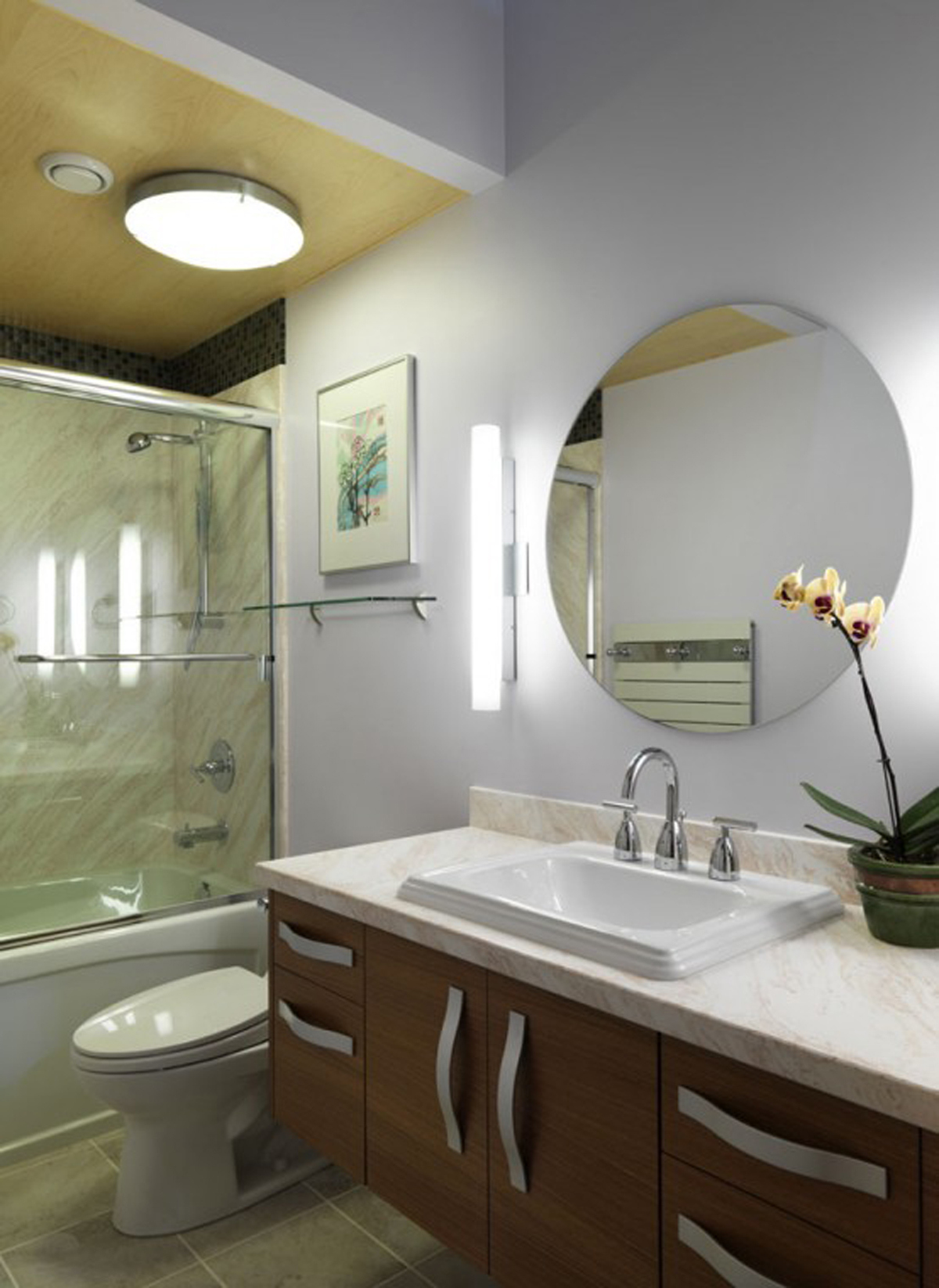 Eco-Fabulous Home Design by Architecton and Shelter Industries - Bathroom