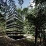 The Ring House, Glass House Design by Takei Nabeshima: Glass House Design By Takei Nabeshima