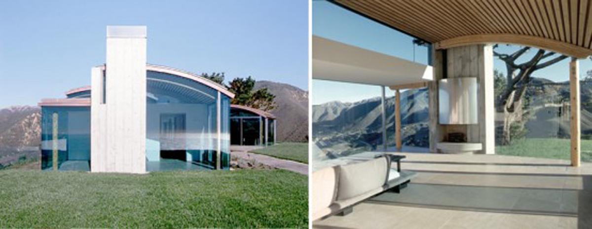 Great View Houses with Invisible Structure by Sagan Piechota - Exteriors
