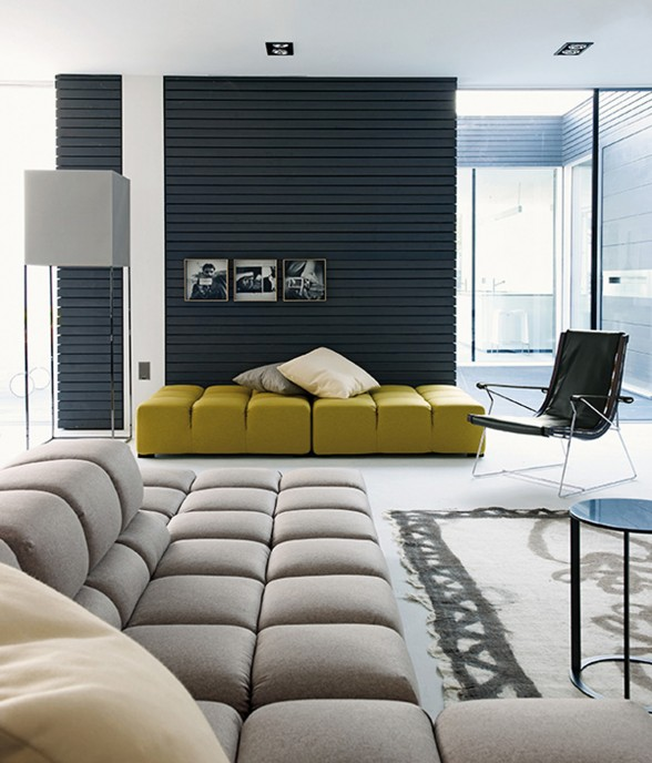 High-End Furniture in Modern Prefab House - Guest Room