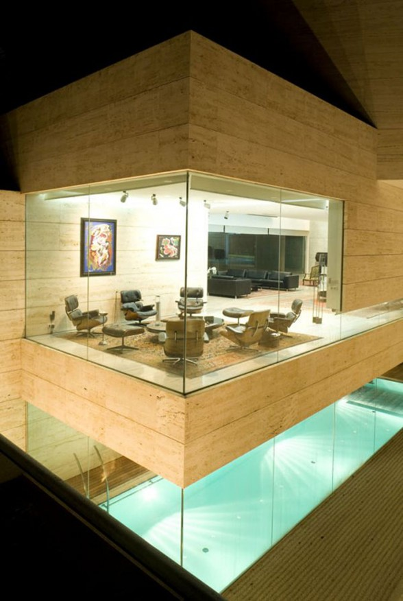 Luxury House Design by Spanish Architect - Meeting Room