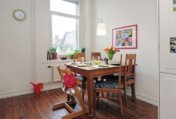 Perfect Family Apartment Inspiration - Dinning Room
