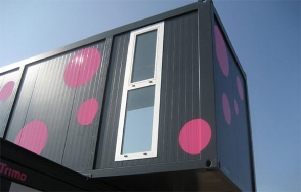 Slovenian ConHouse, a Modern and Compact Prefab Home - Windows