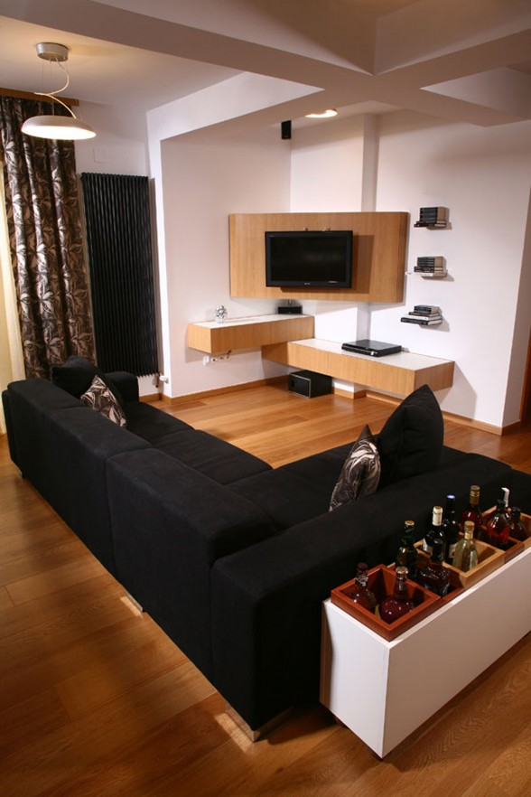 Stylish Apartment in Timisoara - Television