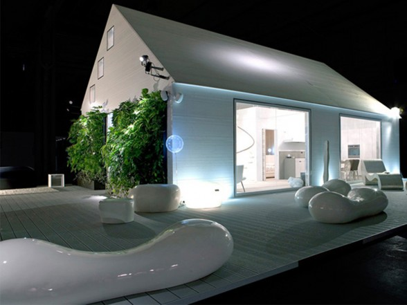 Subissati Idea in Modern White Prefab Homes