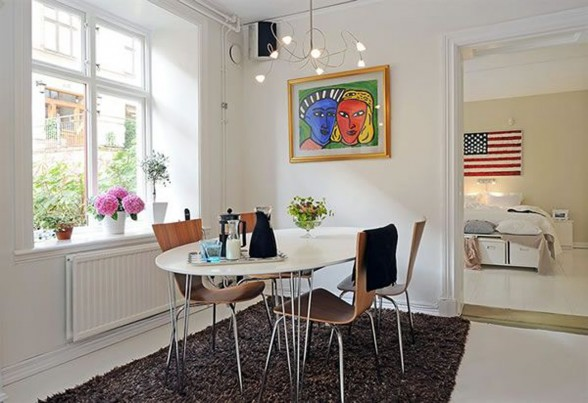 White Apartment in Swedish Inspiration