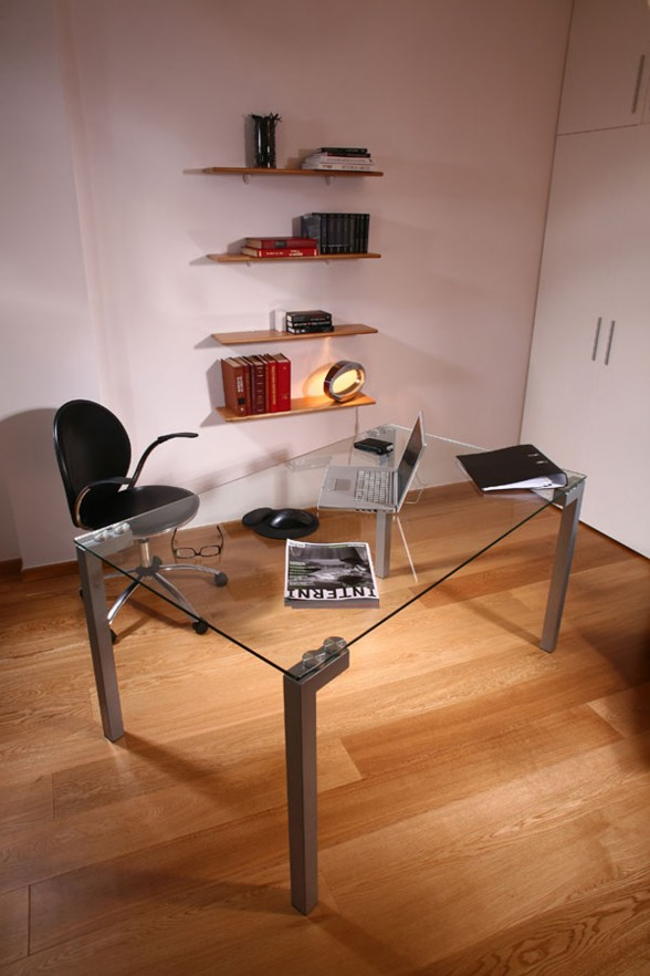 Ştefan Lazăr Apartment Design – Working Room