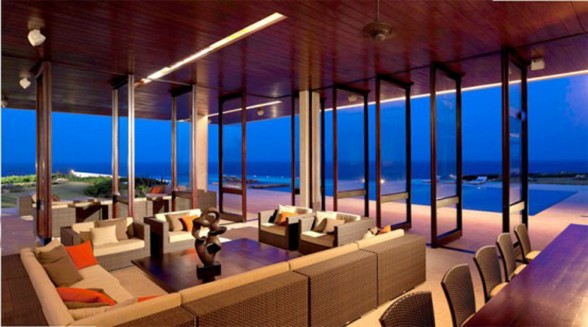 Casa Kimball, A Luxurious Beach House with Atlantic Ocean Panorama - Dining Room