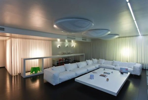 Changing Living Room Scene Apartment, Amazing Design by AA Studio - 1