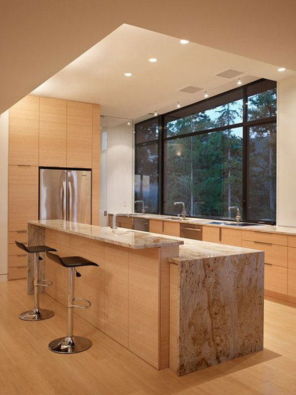 Energy Savers Home Architecture from Prentiss Architect - Kitchen