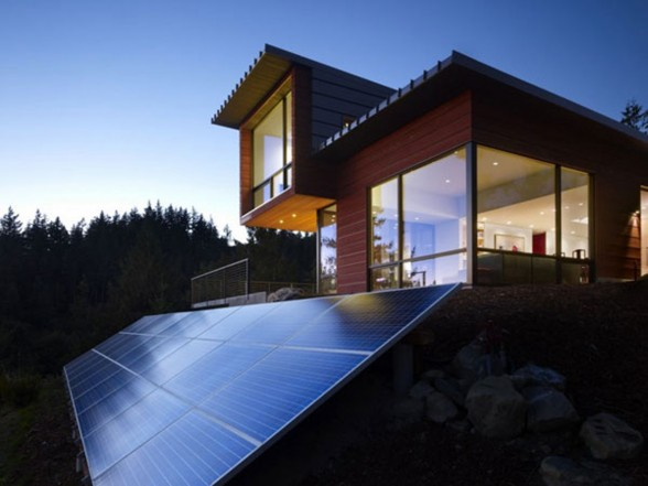 Energy Savers Home Architecture from Prentiss Architect - Solar Panel
