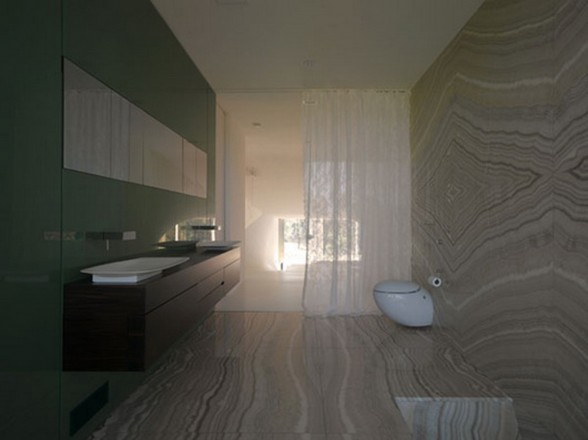 Fantastic Design in Holiday Residence from UNStudio - Bathroom