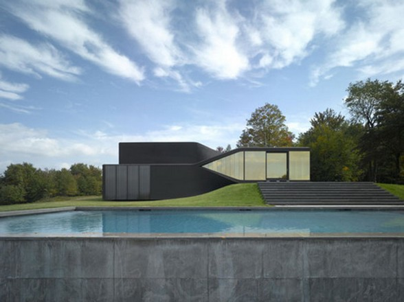 Fantastic Design in Holiday Residence from UNStudio - Pool