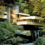 Gorgeous Fallingwater House Plans, Houses Built Over a Waterfall