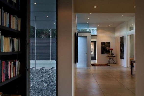 Modern House Design in Boundless Space Area from Parsonson Architects - Alley