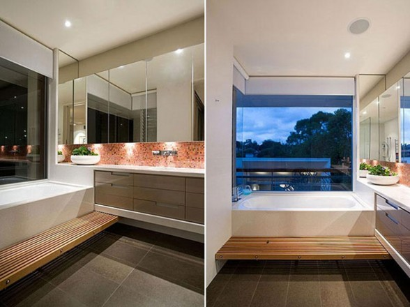 Modern and Cozy Residence with Natural View - Bathroom