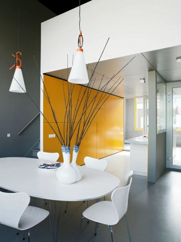 S-House, Block House Design by VMX Architects - Dining Room