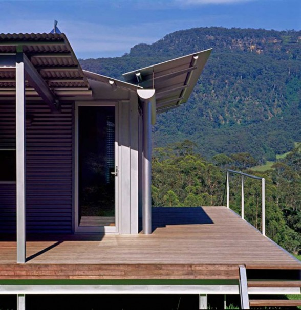 Small and Cool Mountain House Plans in Big Rock Australia - Terrace