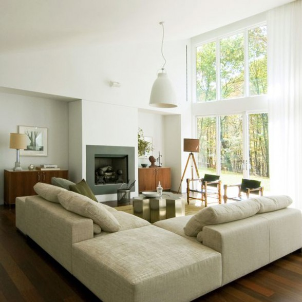The Texas Hill Road Residence - Living room