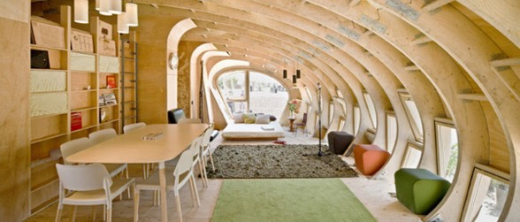 Unique Green-Eco House by IAAC - Refectory