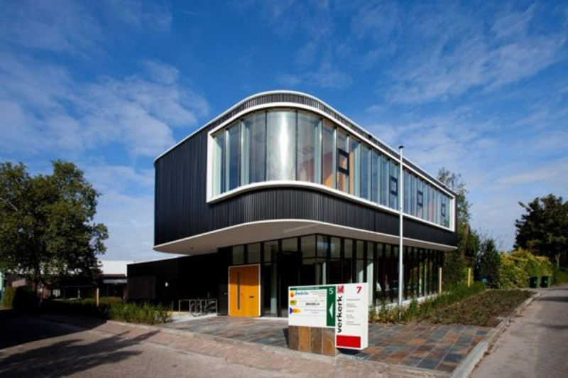 Verkerk Group Office Architecture Building From EGM Architects