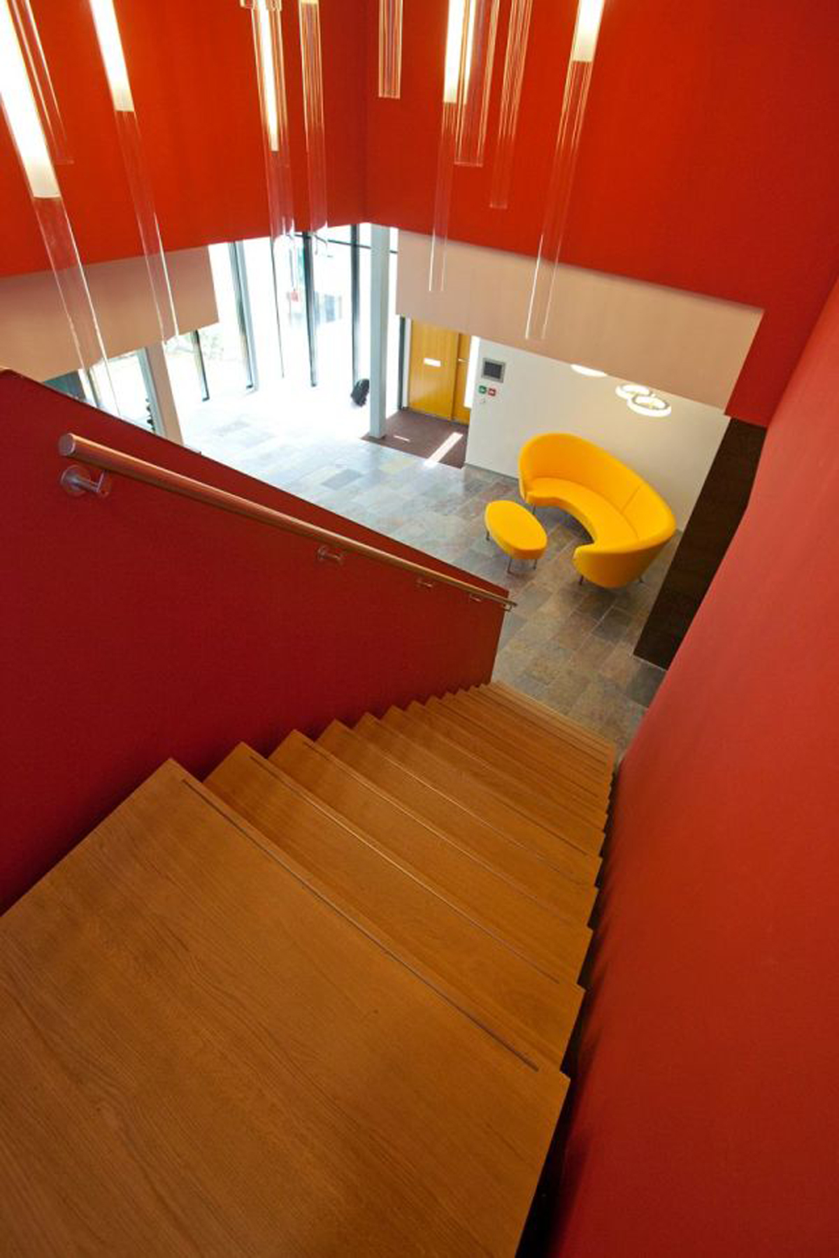 Verkerk Group Office Architecture Building from EGM Architects - Stairs