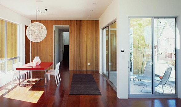 Woody Style Green-Eco House Design in San Francisco - Interiors
