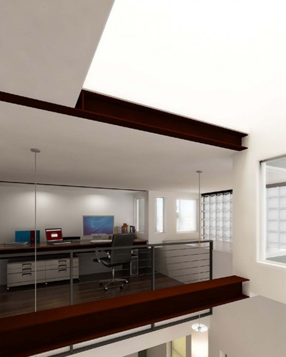 Beautiful Design for Contemporary Block House from Moto Designshop - Working Spaces