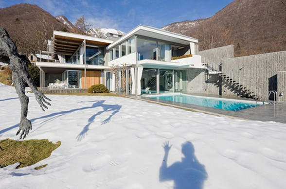 Bucerius House, Great Mountain House in Italy