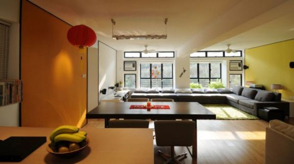 Cozy and Contemporary Design in Apartment, The Matsuki Residence