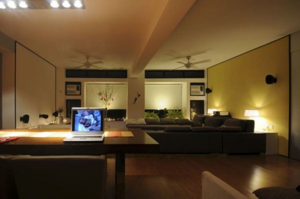 Cozy and Contemporary Design in Apartment, The Matsuki Residence - Working Spaces