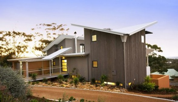 Dream Holiday Home Architecture from DDA - Back View