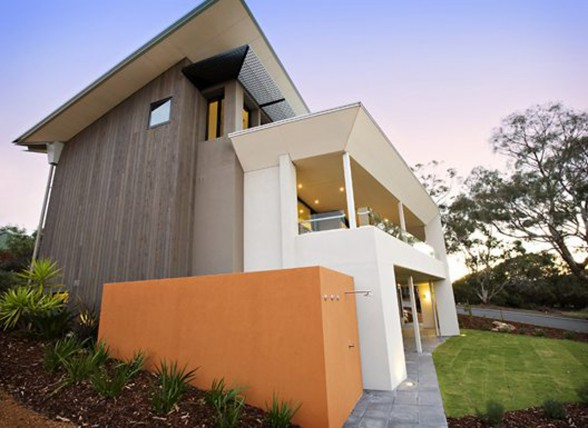Dream Holiday Home Architecture from DDA - Front View