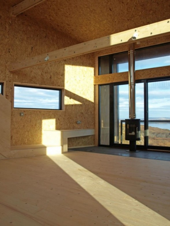 Fiscavaig Holiday House, Scottish Small House Design - Interior