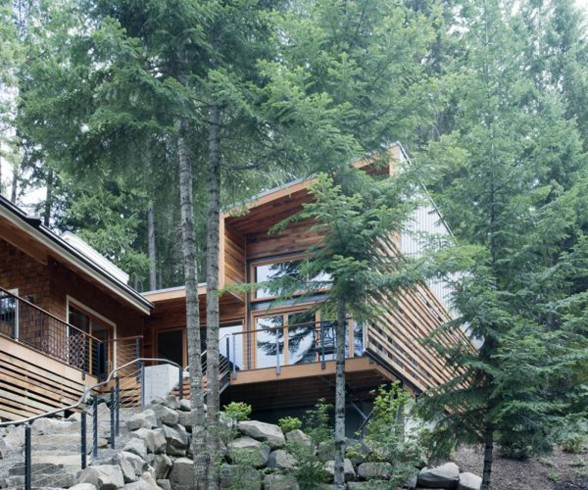 Forest House Architectural, A Michael Flowers Architect Work